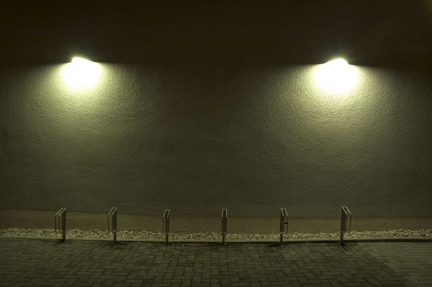 Reflection Scenics Street Light Tranquil Scene Tranquility