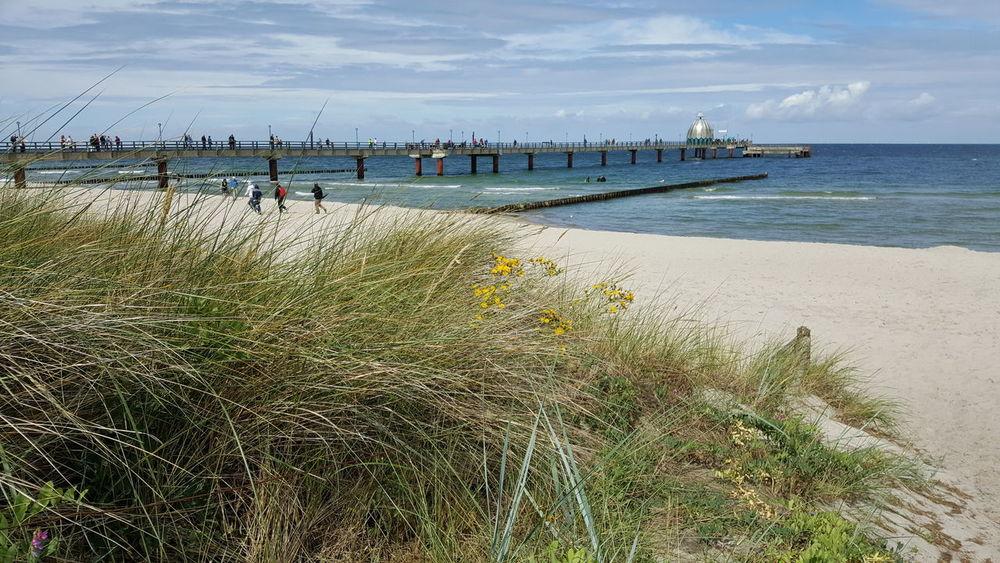 Seaside Zingst, Northern Germany Sea Beach Summer