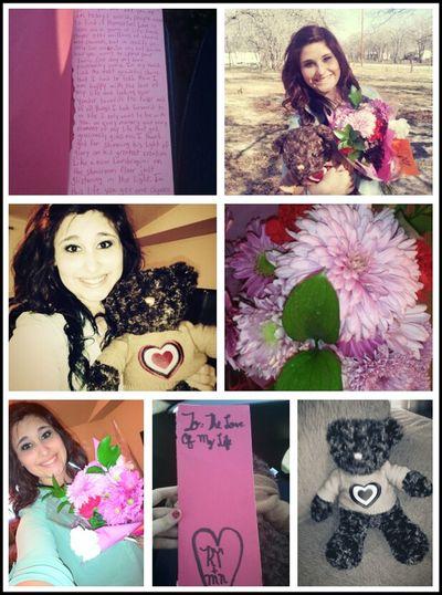 valentines day :) gotta love my boyfriend<3