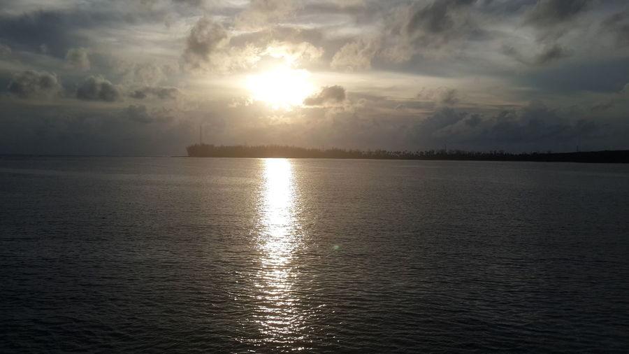 ทะเลยามเย็น Water Sea Scenics Tranquil Scene Tranquility Sunset Sun Beauty In Nature Ocean Reflection Calm Sky Idyllic Waterfront Nature Cloud Seascape Cloud - Sky Remote Outdoors First Eyeem Photo