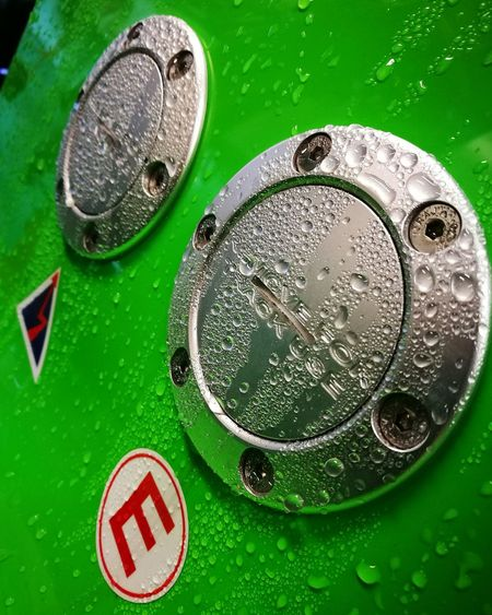 Track safety switches with morning dew Green Color Full Frame Close-up Text No People Day Abstract HuaweiP9Photography Water EyEmNewHere The Week On EyeEm EyeEmNewHere Splashing Droplet Bubble Wet Freshness RaceCarSetup Engine Cut Off Track Car RainDrop Textured  Backgrounds Green Colour Car Porn