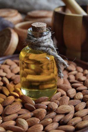 Bottle Almonds Nutrition Healthy Eating Essentialoils Jar No People Alternative Medicine Food Close-up Body Care Indoors  Nature Freshness Day