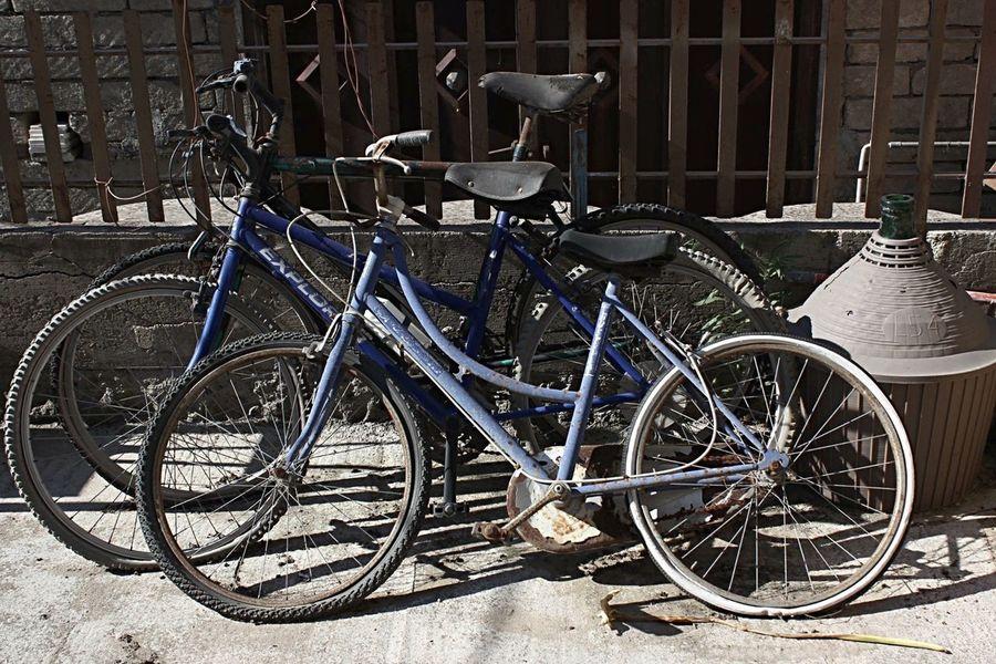 Old bikes🚴🏽 Old Stuff Old Bikes EyeEm Phrobisantos Picoftheday Pedala