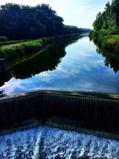 Canal Waterfall