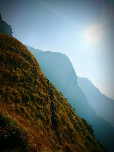 mountains Mountain Landscape Fog Hiking Nature Mountain Range Sky Beauty In Nature Vacations Forest