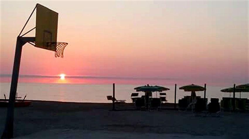 Coucher De Soleil BasketBallneverStops Amazing Calme..¤¤ Capture_today