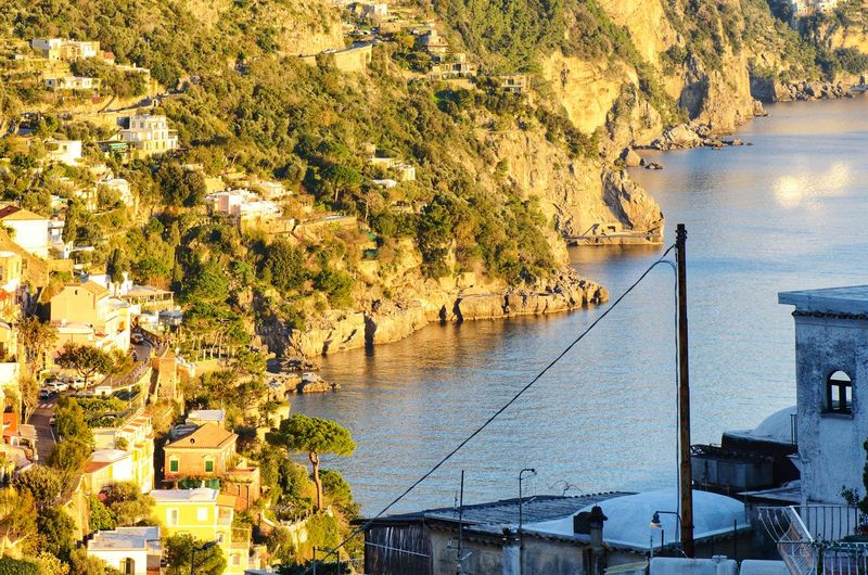 Positano Italy Amalfi coast Water Tree Mountain Lake Nautical Vessel Sky Architecture Built Structure Moored Boat Sailing Boat Harbor Port Sailboat Waterfront Fishing Boat Water Vehicle