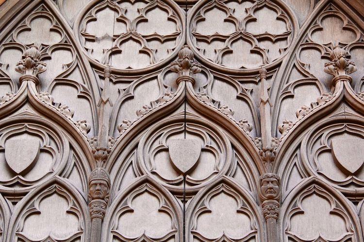 Full frame shot of ornate ceiling