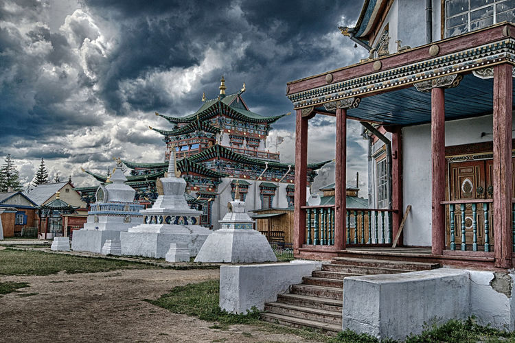Built Structure Architecture Building Exterior Sky Cloud - Sky Religion Belief Place Of Worship Spirituality Building Nature Travel Destinations Day No People Travel Tourism Outdoors Shrine