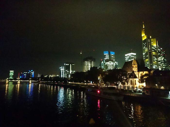 Night City Urban Skyline Skyline Frankfurt Architecture Frankfurt Am Main Frankfurt Germany 🇩🇪 Deutschland Wolkenkratzer Wolkenkratzer Fotos Skyscrapers Skyscrapercity River Main Main River