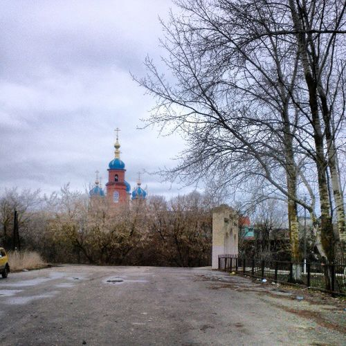 Церковь город весна
