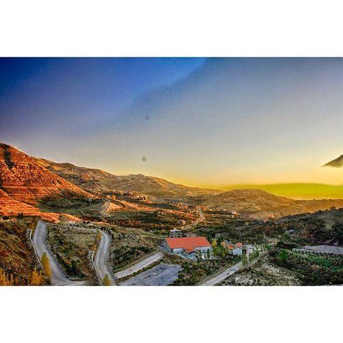 Faraya the village. HDR Lebanon Autumn FallFoliage Foliage