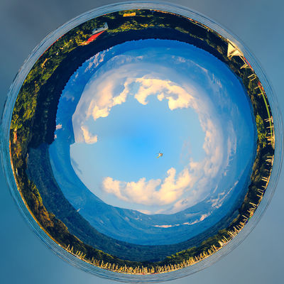 Little Planet Klagenfurt Wörthersee Helicopter Holiday Holidays Klagenfurt Am Wörthersee Kärnten / Österreich Little Planet Nature Travel Carinthia Coast Day Geometry Lakescape Landscape Little Planet Panorama No People Outdoor Outdoors Round Circles Seaside Sky Square Shot Travel Destination