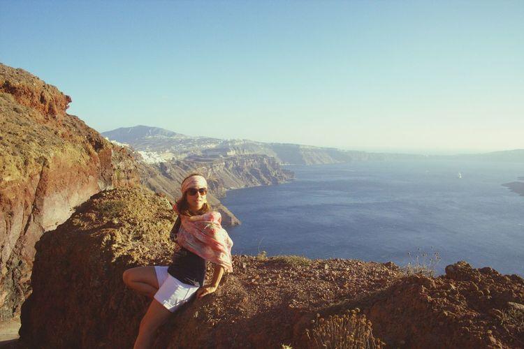 Yes, paradise does exist Santorini Imerovigli Island Travel Photography
