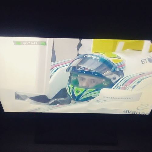 Que saudade que eu tava! Melbourne Qualify! F1 F12015 @massafelipe19 @williamsmartiniracing