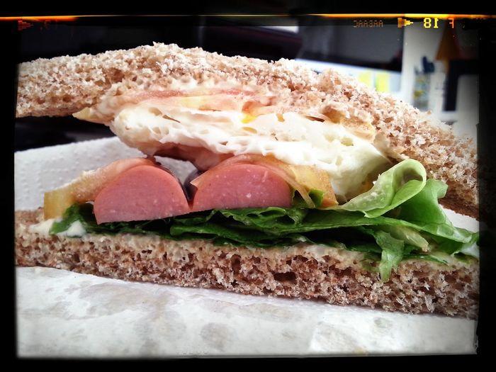 Foodporn Breakfast ♥ Sandwich Yummy!