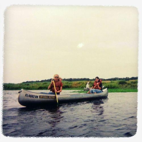 Canoeing Myakka Camping Trip