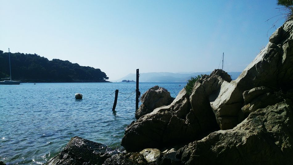 :) Beauty In Nature Clear Sky Day Horizon Over Water Nature Nature Photography Nature_collection No People Outdoors Photography Scenics Sea Sky Sunlight Tranquil Scene Tranquility Travel Destinations Water