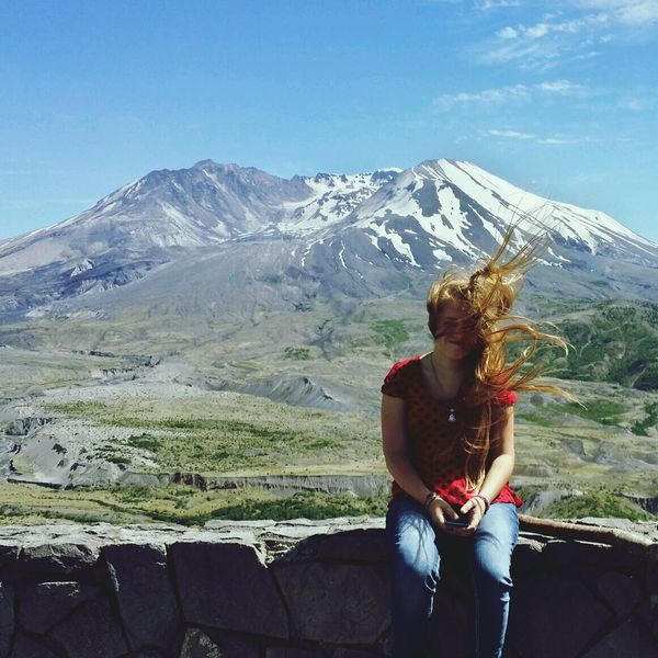 The Moment - 2014 EyeEm Awards Mt. St. Helens