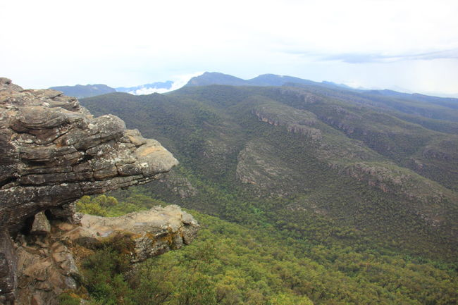 "The rock formation called ""Jaws of Death"" on the cliff face that resembling the jaw of some giant beast. Australia Australian Landscape Grampian National Park The Grampians Travel Victoria, Australia Australia & Travel Landscape Mountain Mountain Range Nature Scenics Travel Destinations"