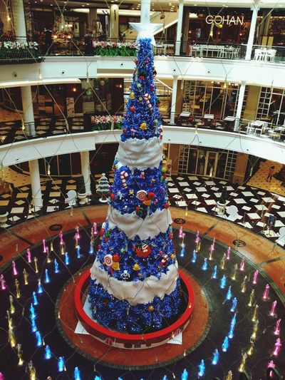 Chirstmas Tree The Promenade Bangkok Thailand Mall
