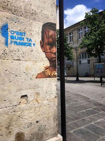 Paris Paris, France  Le Marais Streetart Street Art African Africa African Beauty Boy Building Exterior City Europe Travel Destinations Scenics Urban