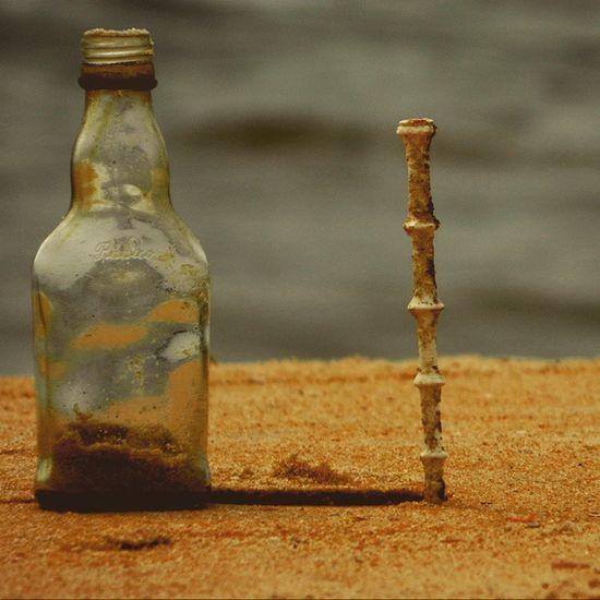 Beach side madness. Beach Bottle Lookslikeawand Wand Water Manglorebeach Mangaluru Kudla Namakudla Crazytimes TBT  FBF  Mustaffas Love Photography HASHTAG