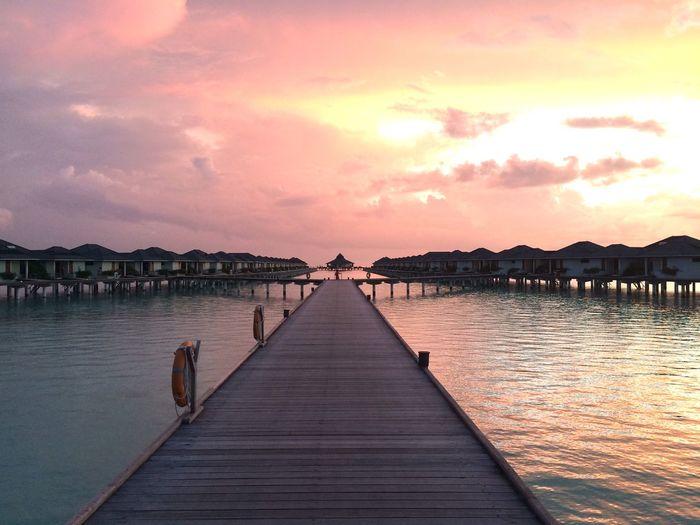 Maldives Water Bungalows at Sun Island Resort
