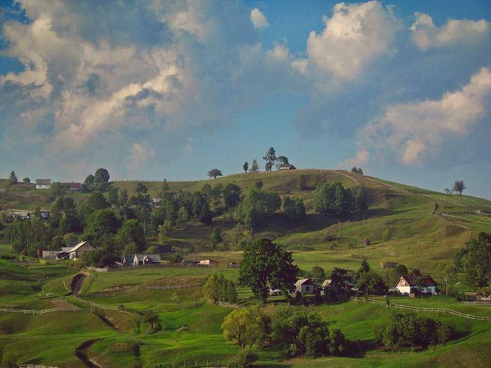 Карпаты... Traveling Summer Sky Landscape Travel Travels Природа Nature_collection Landscape_Collection Juli-elizabeth Ukraine Trees Sky_ Collection Карпаты