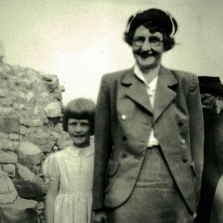 My mother and my grandmother taken approximately 1944 Black And White Oldpicture Old Fashioned odd to think of my mum being a daughter... Mother & Daughter Childhood Memories Long Gone  1940's