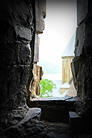 Georgia Built Structure Old Architecture Window Church Old Buildings in Ananuri Georgia
