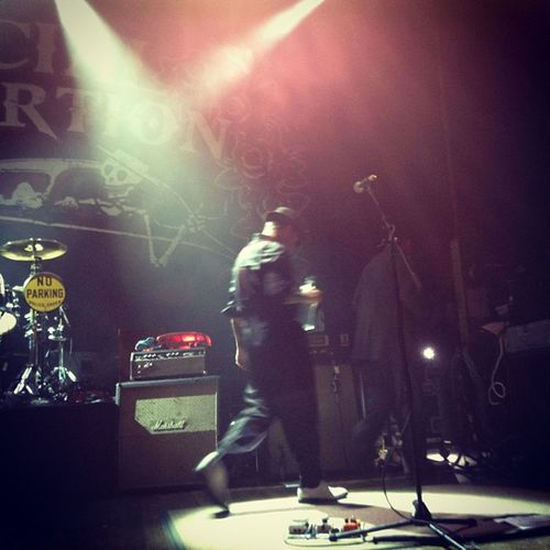 That sad moment when the show is over and they walk off stage and your heart breaks... @socialdistortion Mikeness Houseofblues Music Love heart