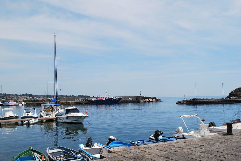 Acitrezza... Sicily Acitrezza  Sicily Italy Stacks  Nautical Vessel Beach Sea Moored Harbor Water Mode Of Transport No People Outdoors Sky Day Travel Destinations Vacations Yacht Nature Cloud - Sky Sailboat Transportation