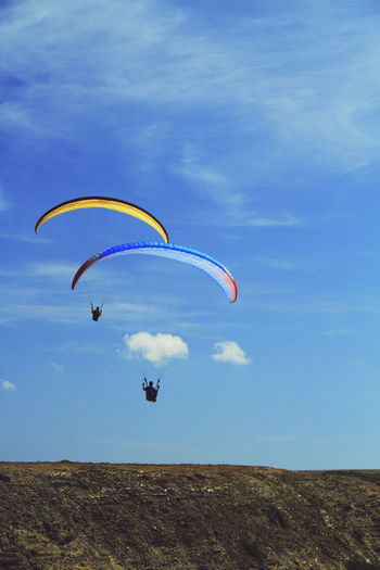 Alentejo Alentejo Landscapes Alentejo Lovers Alentejo,Portugal Beautiful Portugal Beauty In Nature Costa Vincentina Costa Vincentina, Alentejo Day Extreme Sports Flying Lifestyles Nature Paragliding Portugal Sky