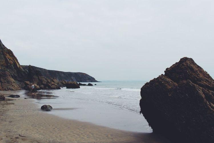 Gorran Haven Gorran Haven Cornwall Vscocam Sea Seaside Cliffs Beach