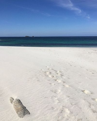 FinistèreNord Bretagnetourisme Beach Sky Sand Sea Water Beauty In Nature No People Tranquility Nature Idyllic