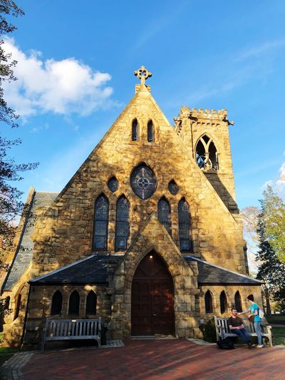 First Eyeem Photo Church Religion Spirituality Architecture Place Of Worship Built Structure Building Exterior Rose Window
