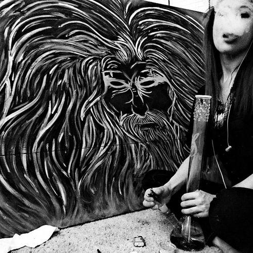 ~ Robzombie Robzombie Robzombiepainting Inhale & freeyourmind paint
