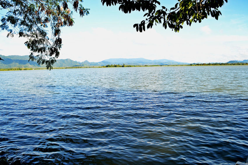 EyeEmNewHere Beauty In Nature Lake Nature No People Outdoors Scenics Sky Tranquil Scene Tranquility Tree Water