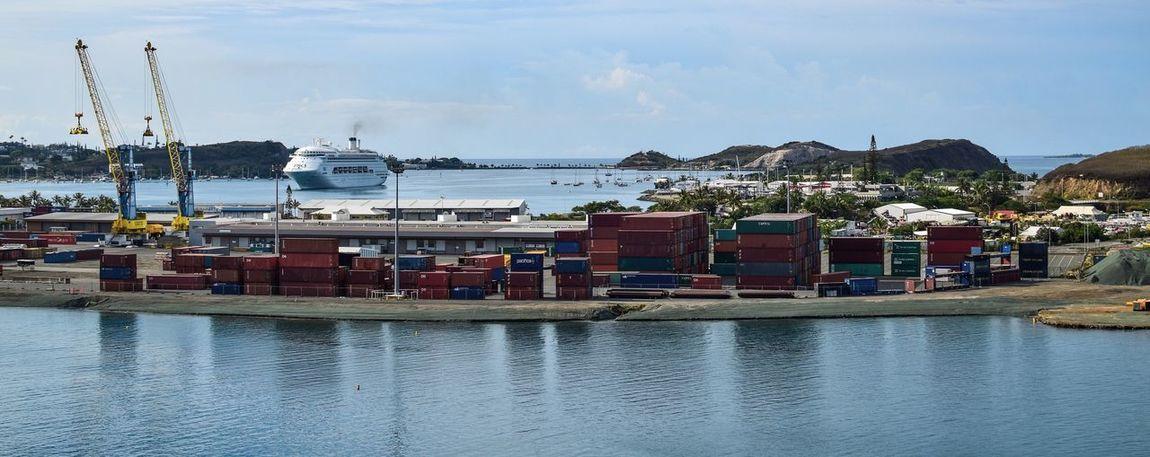 EyeEm Best Shots - Landscape Landscape Photography Landscapes Landscape_Collection Landscape Port Harbour Cruise Ship Noumea New Caledonia