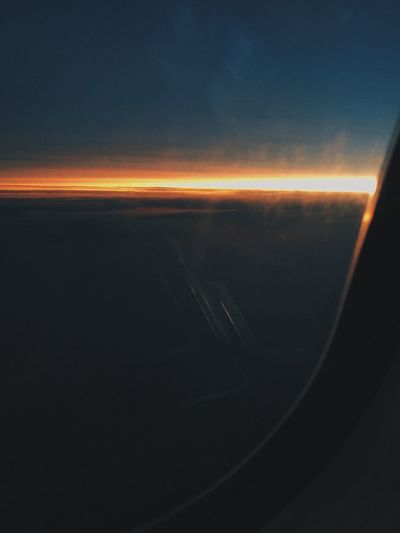 TheWeekOnEyeEM The Week On EyeEm Florida Sky And Clouds Sunrise Travel Travelling No People Airplane Flying Over The Ocean