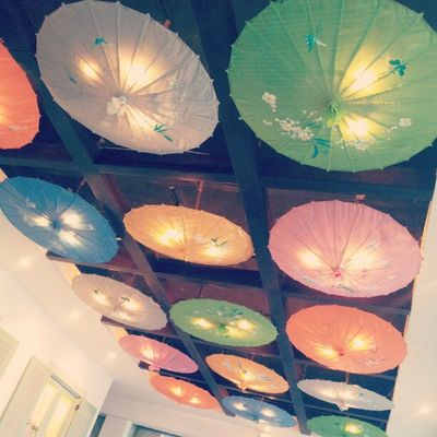 And the lights on Instabanjar Instagram Umbrella Ceiling photodaily pictoftheday lights art