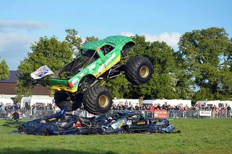 Check This Out Monster Trucks Stunt Popular Photo Enjoying Life