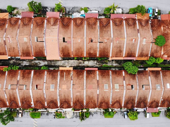 Symetry pattern from above Architecture Day Built Structure Nature Plant Building Exterior Food And Drink Food Freshness Arrangement No People Outdoors Water City Agriculture Growth Roof Brick Wall - Building Feature Building