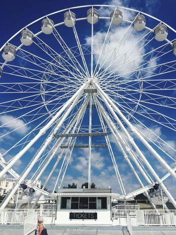 Amusement Park Arts Culture And Entertainment Amusement Park Ride Ferris Wheel Built Structure Architecture Sky