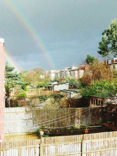 Afternoon After Rain Rainbows London Wood Green Spring Colors