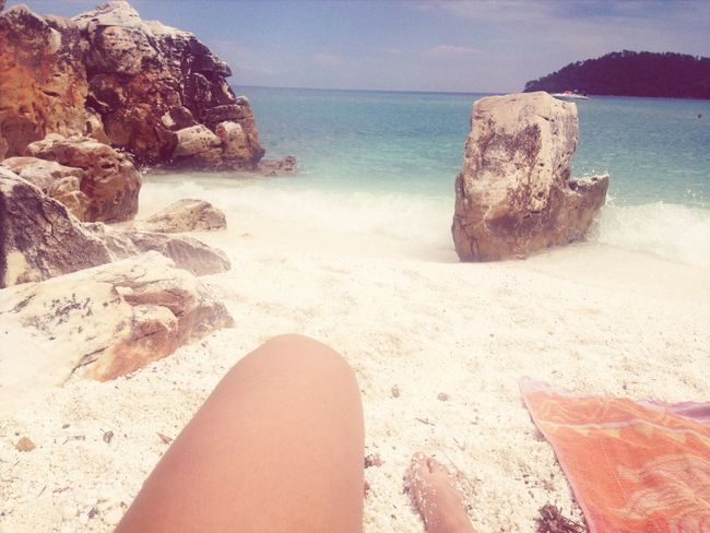 Summer! ♥ On The Beach Sunshine Sea
