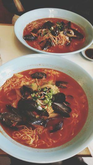 Speical.Mussel ramen♥