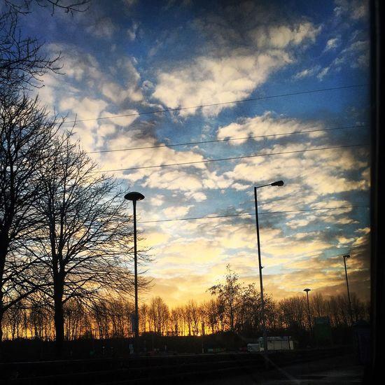Winter Sunrise Clouds
