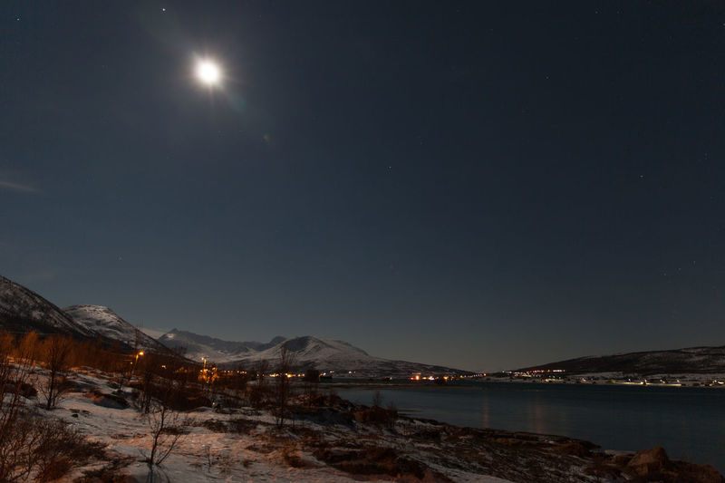 Frozen night at Sor-Lenangen Arctic Beauty In Nature Blue First Eyeem Photo Fjord Frozen Illuminated Mountain Mountain Range Nature Night Nightphotography No People Norway Outdoors Scenics Sky Snow Tranquil Scene Tranquility Troms Tromsø Ullsfjord Ullsfjorden Winter